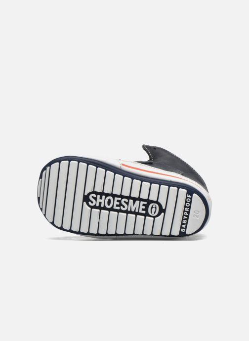 Schoenen met klitteband Shoesme Simon Blauw boven
