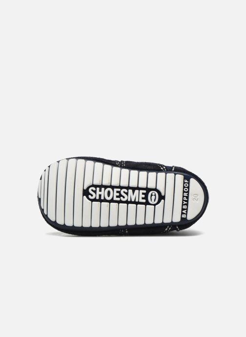 Baskets Shoesme Sam Bleu vue haut