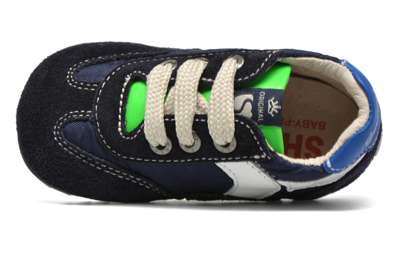 Sneakers Shoesme Sam Azzurro immagine sinistra