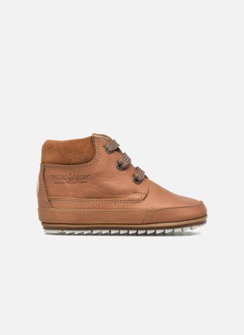 Chaussures à lacets Shoesme Stef Marron vue derrière
