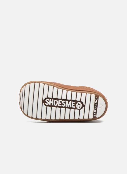 Chaussures à lacets Shoesme Stef Marron vue haut