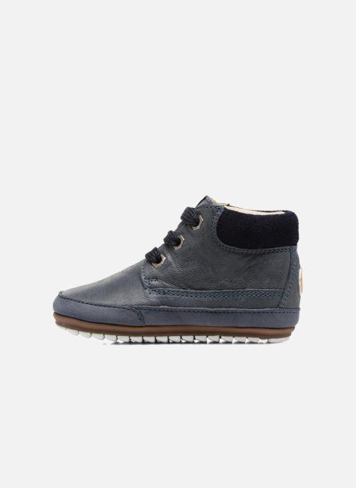 Chaussures à lacets Shoesme Stef Bleu vue face