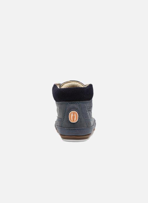Chaussures à lacets Shoesme Stef Bleu vue droite