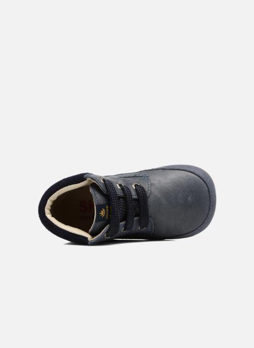 Chaussures à lacets Shoesme Stef Bleu vue gauche