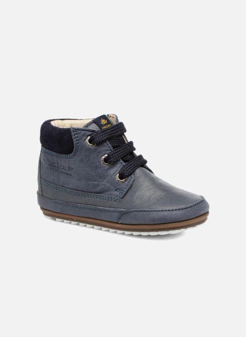 Chaussures à lacets Shoesme Stef Bleu vue détail/paire