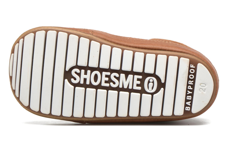 Veterschoenen Shoesme Stef Bruin boven