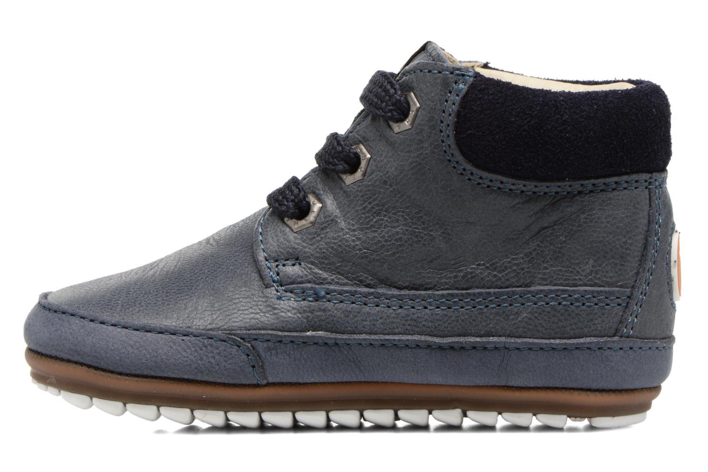 Veterschoenen Shoesme Stef Blauw voorkant