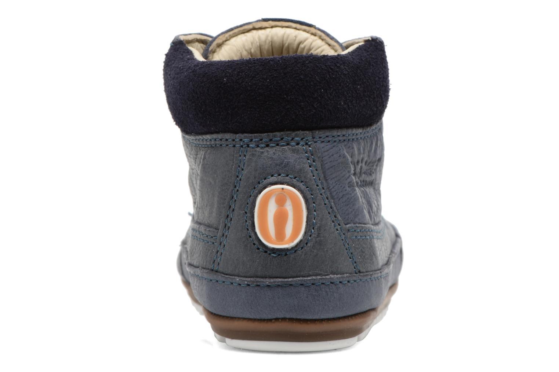 Veterschoenen Shoesme Stef Blauw rechts