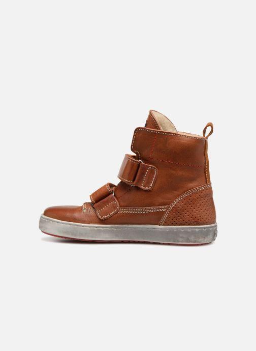Chaussures à scratch Shoesme Sofian Marron vue face