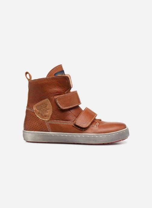Schoenen met klitteband Shoesme Sofian Bruin achterkant