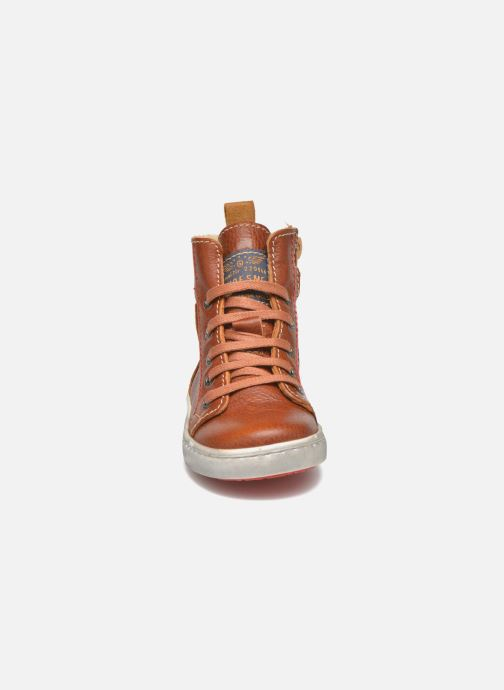 Baskets Shoesme Stanley2 Marron vue portées chaussures