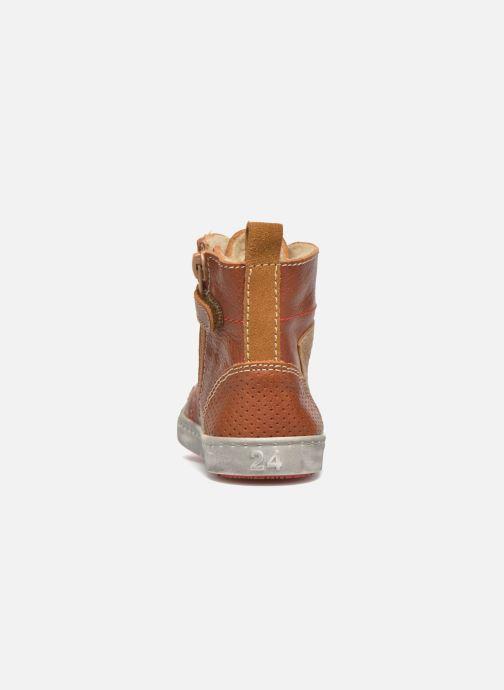 Baskets Shoesme Stanley2 Marron vue droite