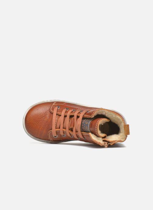 Baskets Shoesme Stanley2 Marron vue gauche