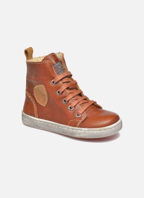 Baskets Shoesme Stanley2 Marron vue détail/paire