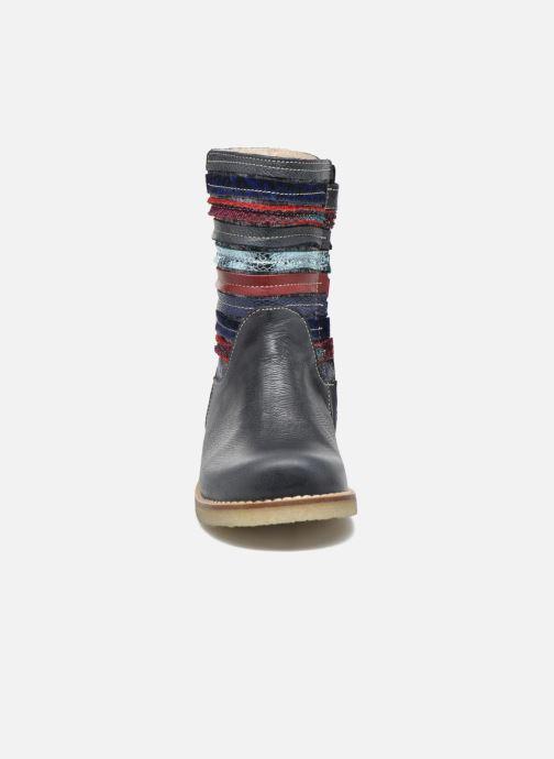 Bottes Shoesme Sarah Bleu vue portées chaussures