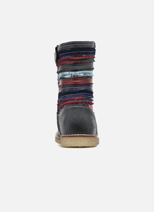 Bottes Shoesme Sarah Bleu vue droite