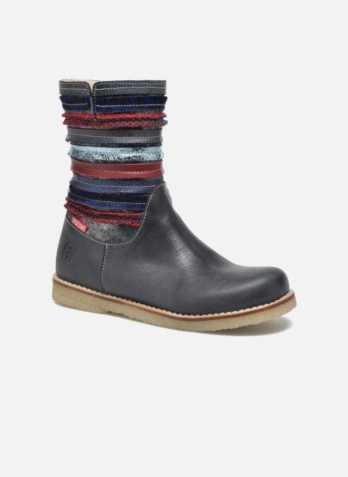 Bottes Shoesme Sarah Bleu vue détail/paire
