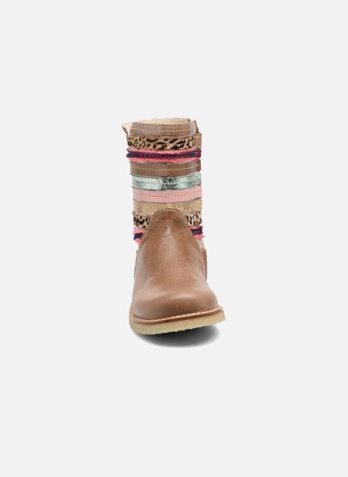 Bottes Shoesme Sarah Beige vue portées chaussures