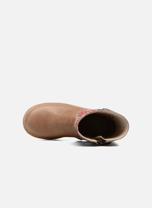 Bottes Shoesme Sarah Beige vue gauche