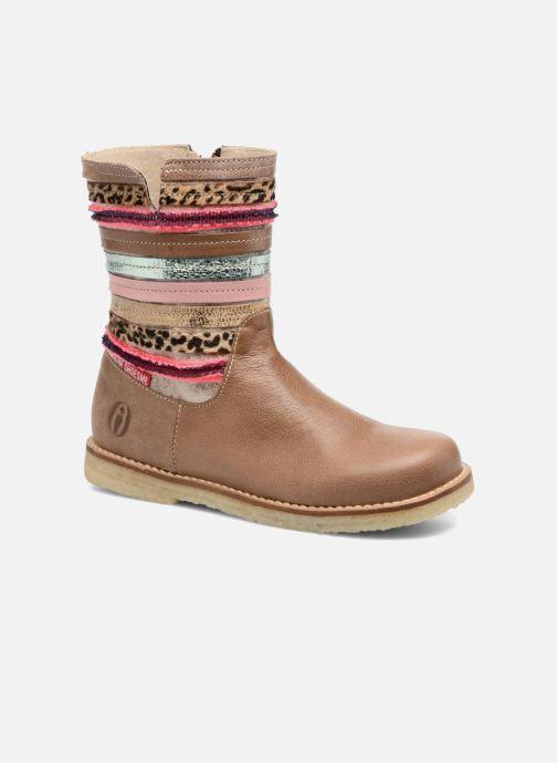 Bottes Shoesme Sarah Beige vue détail/paire