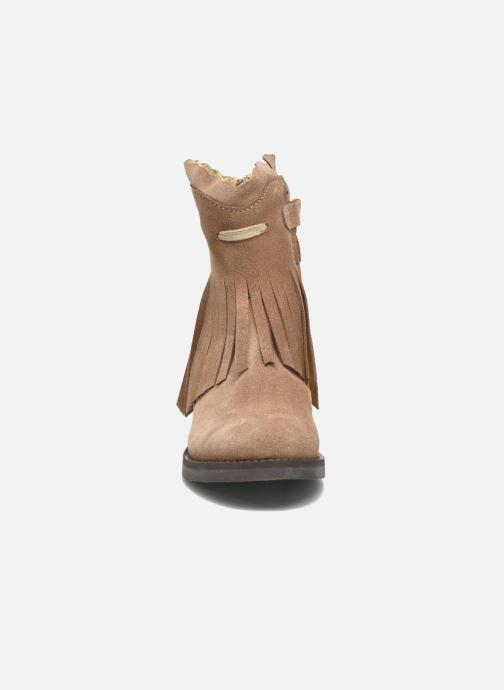 Bottes Shoesme Serena Marron vue portées chaussures
