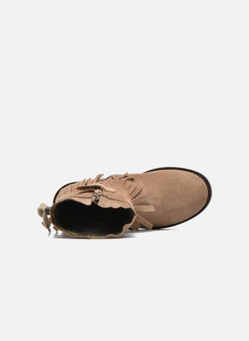 Bottes Shoesme Serena Marron vue gauche