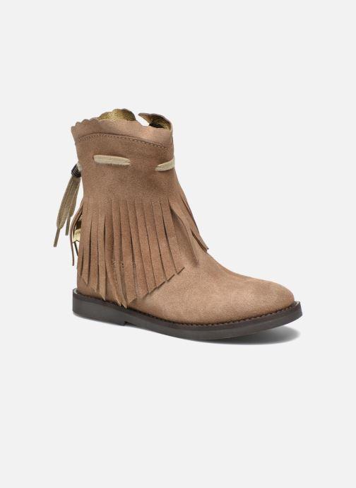Bottes Shoesme Serena Marron vue détail/paire