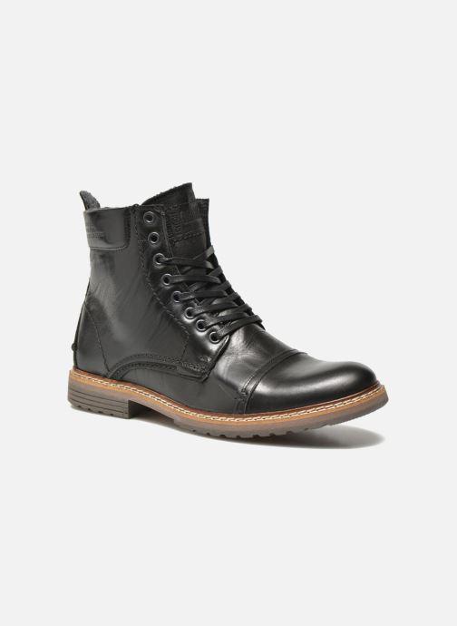 Boots en enkellaarsjes Bullboxer Jensen Zwart detail
