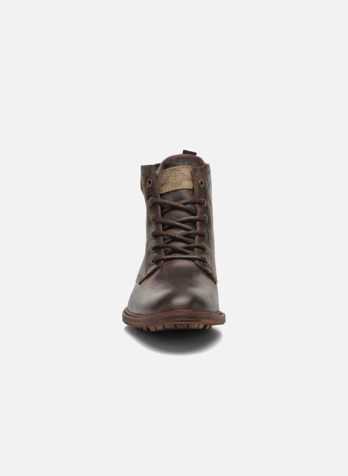 Stiefeletten & Boots Bullboxer Don braun schuhe getragen