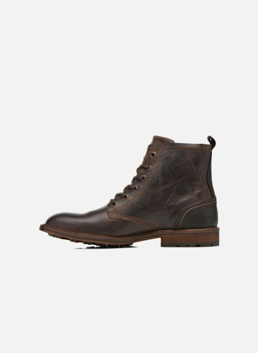 Stiefeletten & Boots Bullboxer Don braun ansicht von vorne