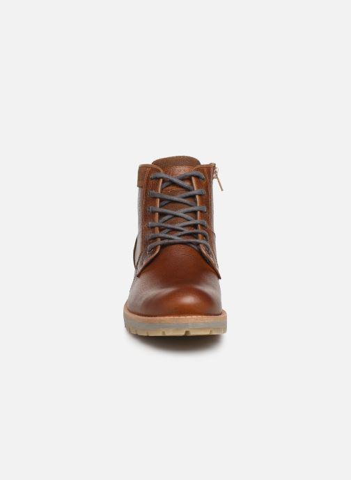 Bottines et boots Bullboxer Ben Marron vue portées chaussures