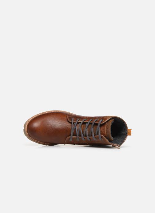 Boots en enkellaarsjes Bullboxer Ben Bruin links