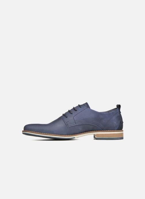 Zapatos con cordones Bullboxer Andre Azul vista de frente