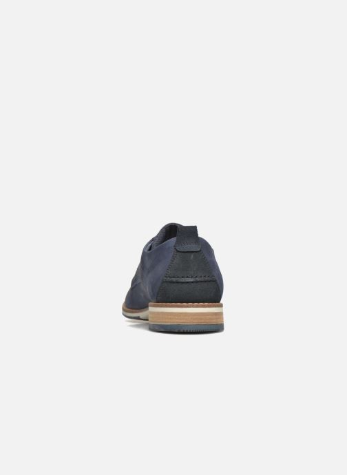 Zapatos con cordones Bullboxer Andre Azul vista lateral derecha