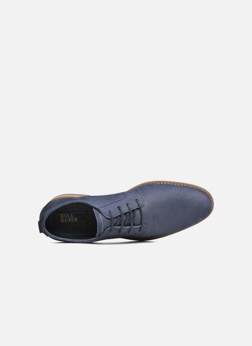 Zapatos con cordones Bullboxer Andre Azul vista lateral izquierda