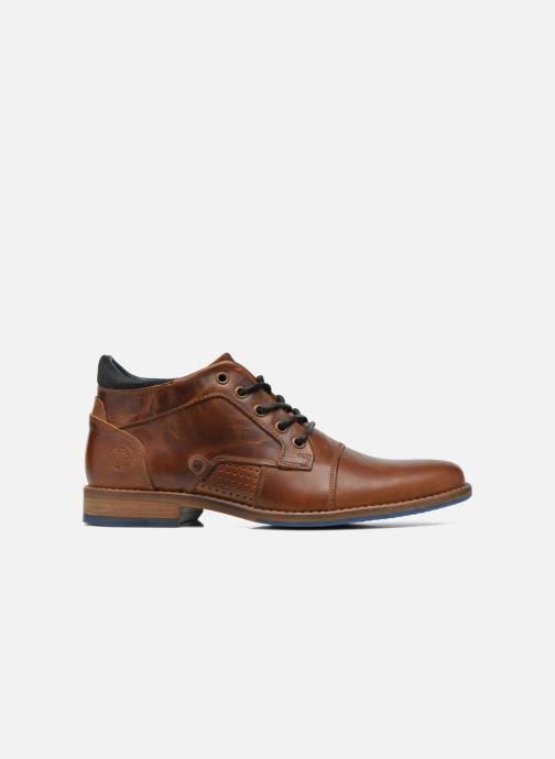 Chaussures à lacets Bullboxer Joe Marron vue derrière