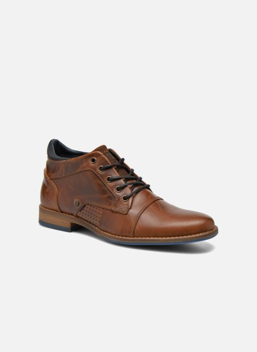 Zapatos con cordones Bullboxer Joe Marrón vista de detalle / par