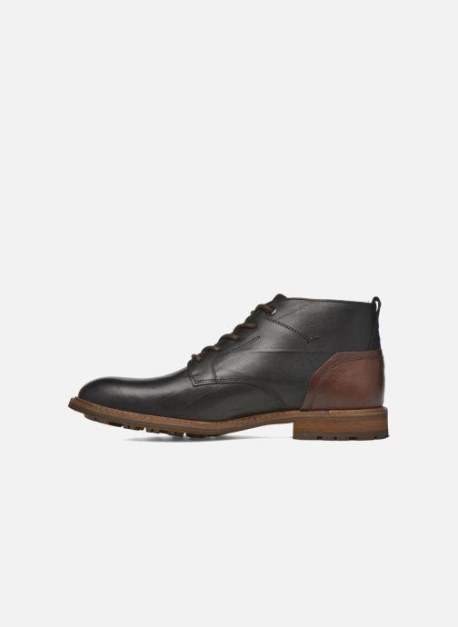 Zapatos con cordones Bullboxer Eddie Negro vista de frente