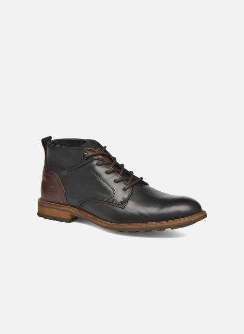 Zapatos con cordones Bullboxer Eddie Negro vista de detalle / par