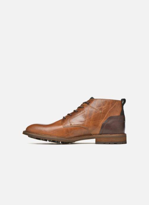 Zapatos con cordones Bullboxer Eddie Marrón vista de frente