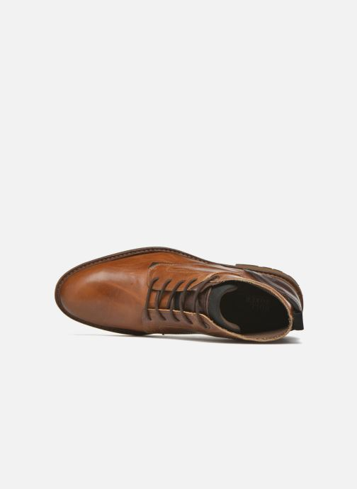 Zapatos con cordones Bullboxer Eddie Marrón vista lateral izquierda