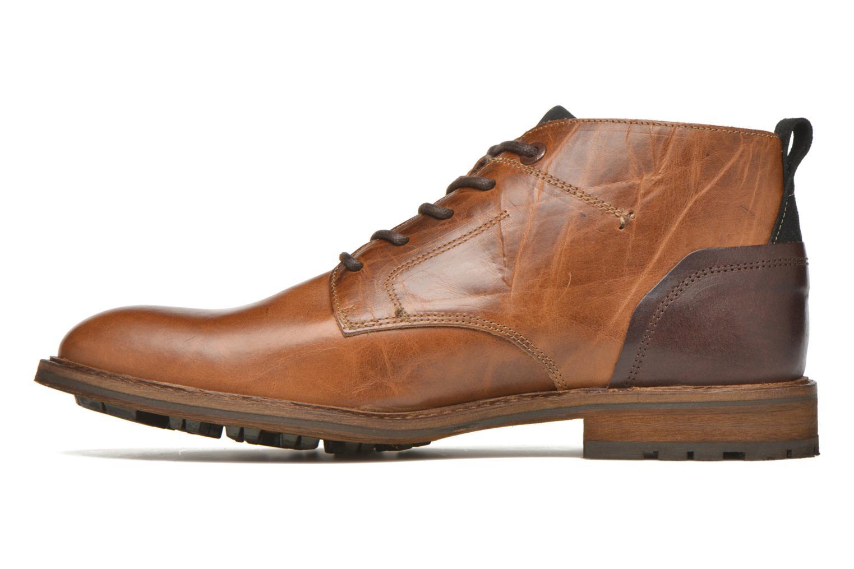 Chaussures à lacets Bullboxer Eddie Marron vue face