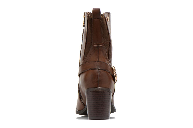 Bottines et boots Xti Alasia-28515 Marron vue droite