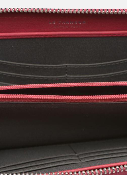 Kleine lederwaren Le Tanneur VALENTINE Porte-monnaie long zippé Roze achterkant