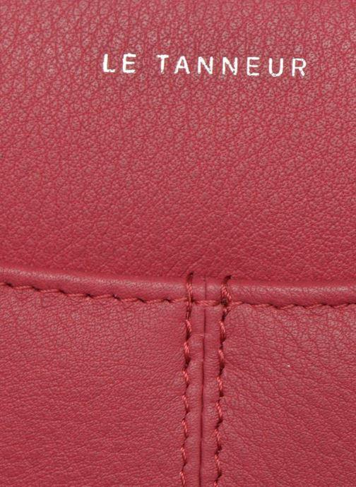 Pelletteria Le Tanneur VALENTINE Porte-monnaie long zippé Rosa immagine sinistra