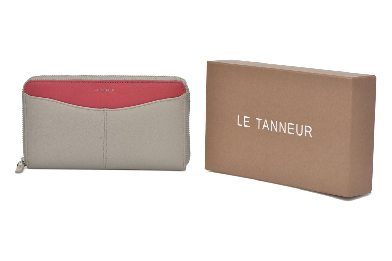 Petite Maroquinerie Le Tanneur VALENTINE Porte-monnaie long zippé Multicolore vue détail/paire