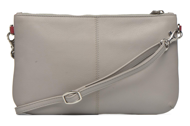 Sacs pochettes Le Tanneur VALENTINE Pochette zippée Multicolore vue face