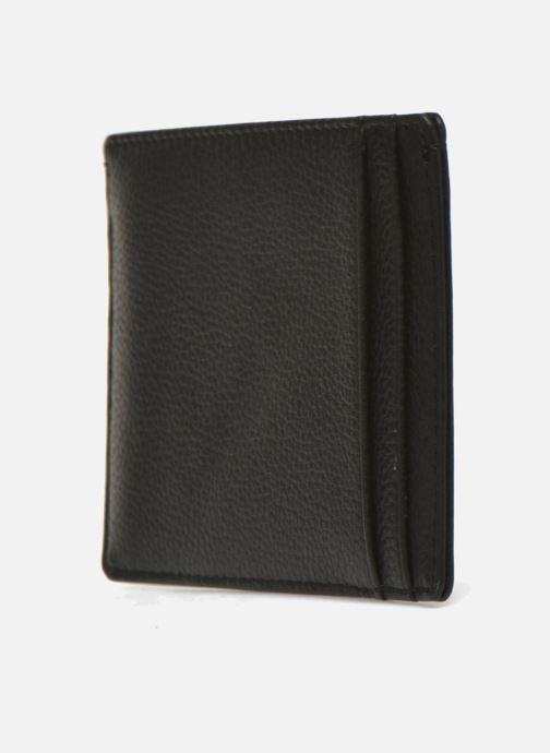 Kleine lederwaren Le Tanneur MARIUS Porte-papiers 3 poches Zwart rechts