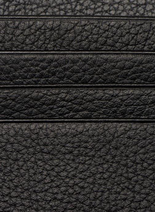Kleine lederwaren Le Tanneur MARIUS Porte-papiers 3 poches Zwart achterkant