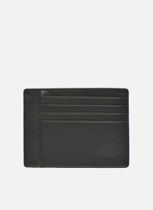Kleine lederwaren Le Tanneur MARIUS Porte-papiers 3 poches Zwart detail